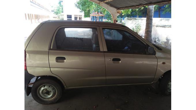 Used 2010 Maruti Suzuki Alto Car In Tiruchirapalli