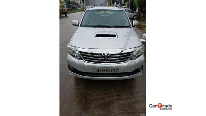 Used 2012 Toyota Fortuner Car In Indore