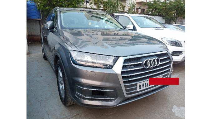 Used 2017 Audi Q7 Car In Pune