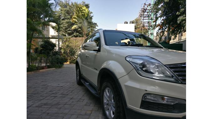 Used 2015 Ssangyong Rexton Car In Bangalore