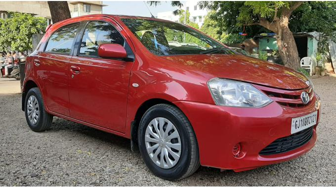Used 2012 Toyota Etios Liva Car In Ahmedabad