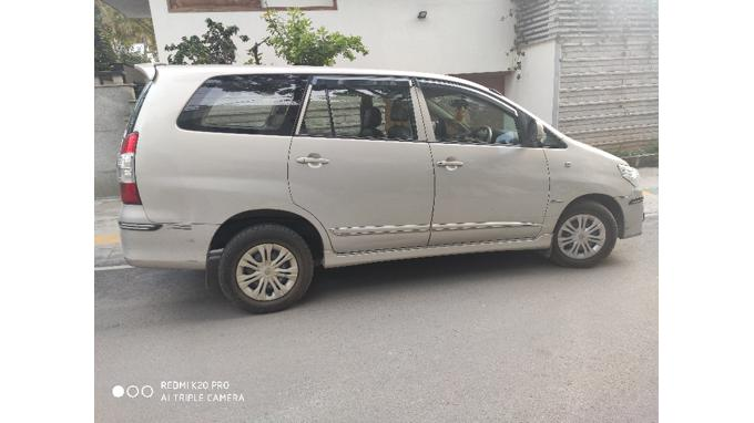 Used 2016 Toyota Innova Car In Bangalore