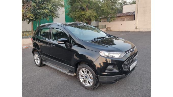 Used 2013 Ford EcoSport Car In Faridabad
