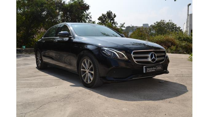 Used 2017 Mercedes Benz E Class Car In Visakhapatnam