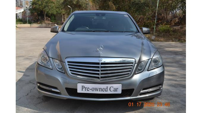 Used 2011 Mercedes Benz E Class Car In Visakhapatnam