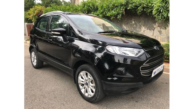 Used 2014 Ford EcoSport Car In Bangalore