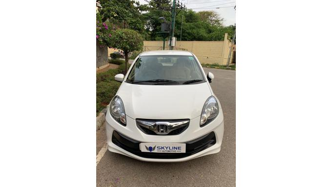 Used 2014 Honda Brio Car In Bangalore