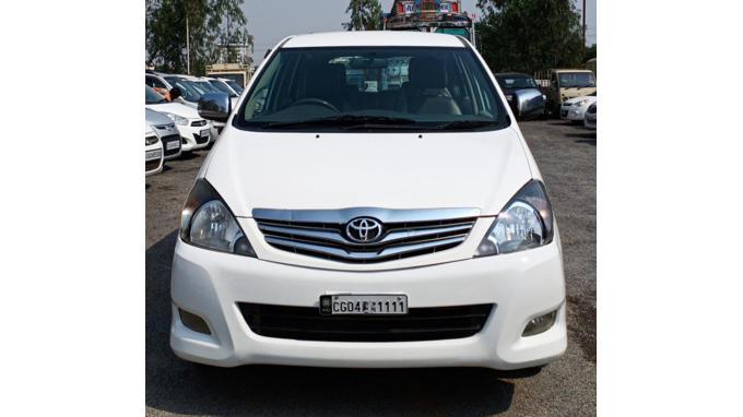 Used 2012 Toyota Innova Car In Bilaspur