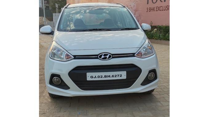 Used 2014 Hyundai Grand i10 Car In Ahmedabad