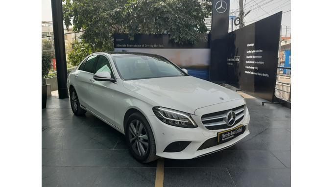 Used 2019 Mercedes Benz C Class Car In East Godavari